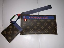Louis Vuitton 2018 Monogram Outdoor Ribbon Pouch Wristlet