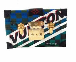 RARE! AUTH LOUIS VUITTON 2017 RACE PETITE MALLE BAG CLUTCH BNIB LTD EDITION