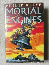 Philip Reeve 2001 And039mortal Enginesand039 Uk Signed And Sketched First Edition 1/1