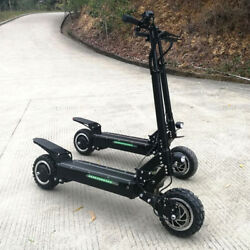 Flj 3200w/60v Two Wheel 11in. Folding Off Road Electric Scooter Fast New