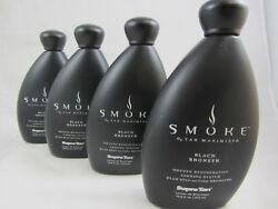 4 Pack - Smoke Black Bronzer Tanning Lotion By Supre