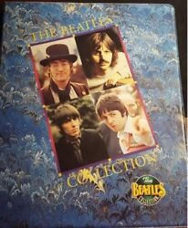 Vintage Beatles Trading Cards With Binder By River Group Apple Inc.- 1993