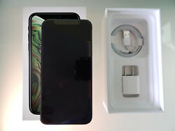 New Apple Iphone Xs Max 64gb A1921 Space Gray Unlocked Warranty Fast Ship
