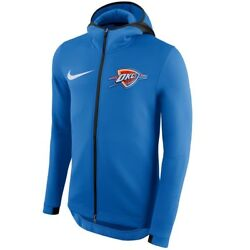 Nike Oklahoma City Thunder Men's Authentic Nba On-court Showtime Hoodie Small