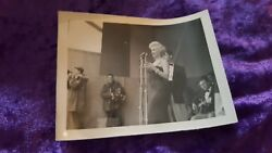 MARILYN MONROE 8 ORIGINAL PHOTOGRAPHS Third Infantry Division USO ANYTHING GOES