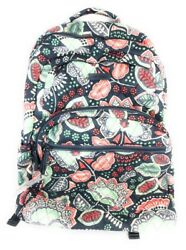 Vera Bradley Large Essential Backpack Nomadic Floral Quilted Cotton NWT