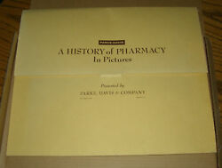Complete A History Of Pharmacy In Pictures 40 Prints 1954 Parke-davis Apothocary