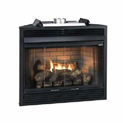 Empire Comfort Systems Deluxe Mv 36 Louver B-vent Fireplace - Natural Gas
