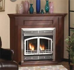 Empire Comfort Systems Standard Corner Cabinet Mantel Embc3sc With Base - Cherry