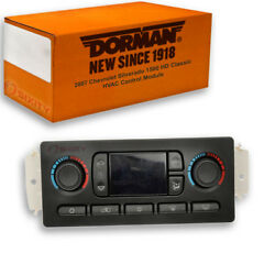 Dorman Rear HVAC Control Module for Chevy Silverado 1500 HD Classic 2007 - yi