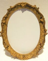French Gilt Dore Bronze Picture Frame By Marshall Field And Co Chicago With Easel