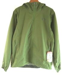 NWT The North Face Men's Scallion Green Heather Quest Hooded Jacket Medium