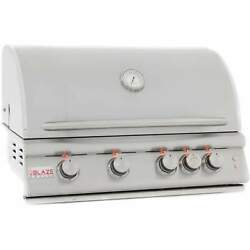 Blaze Marine Grade Stainless Steel Built-in Propane Gas Grill With Lights 32