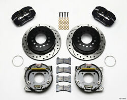Wilwood Dynapro Low-profile 11.00in P-brake Kit Drilled For Chevy 12 Bolt 2.75in
