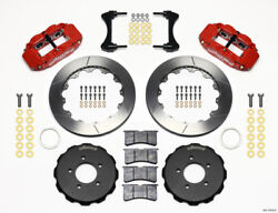 Wilwood Narrow Superlite 6r Front Hat Kit 12.88in Red 2006-up Civic / Crz - Wil1