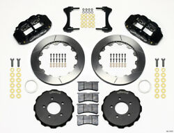 Wilwood Narrow Superlite 6r Front Hat Kit 12.88in 2006-up Civic / Crz - Wil140-1