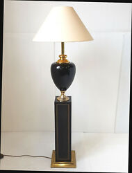 Floor Lamp Home The Dolphin 1970 1980 Vintage Metal And Brass Golden Vintage 70s
