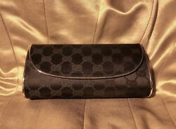 Rare Vintage Gucci Clutch Purse With Sterling Silver Plated $650.00