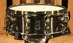 Mapex Black Panther Brass Cat 14x5.5 Snare (video demo)