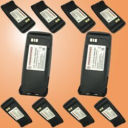 10x Replacement Pmnn4066 Battery For Motorola Radios Dp3401 Dgp6150 Xpr6550