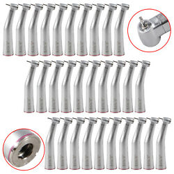 30PCS Dental Push Button 1:5 Increasing Contra Angle Handpiece Clean Head M-Tf