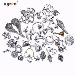 10pcs Multi Styles Charms Accessories Metal Alloy Charms For Diy Jewelry