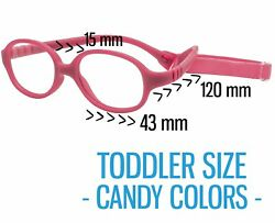Kids Glasses Frame w Strap INFANT NEWBORN SIZE Baby Optical Eyewear 43 15 120 $17.99