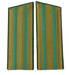 Soviet Border Guard Officer Shoulder Boards For Parade Uniform Major-colonel