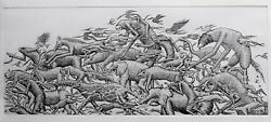 Fight Or Flight Phlegm Street Art Print Poster Etching Documenting Invader