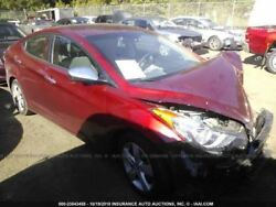 Rear Bumper Sedan US Built Conventional Ignition Fits 11-13 ELANTRA 119046
