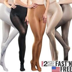 Super Elastic Plus Size Pantyhose 70D Oil Shiny High Glossy Sexy Stocking Tights $7.99