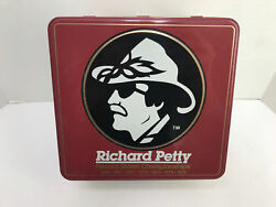 Nascar Winston Cup Series Richard Petty Metal Tin From Petty Museum