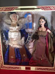 Merlin And Morgan L. Fay Barbie And Ken Collectable Doll