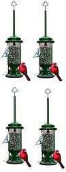 4-pack Of Brome Squirrel Buster Standard Bird Feeder 1057 Squirrel Proof