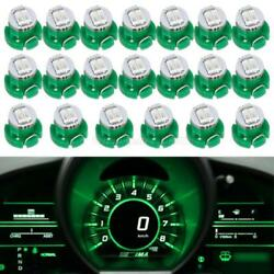 20Pc Green 2-1206-SMD T3 Neo Wedge SMD LED Climate Cluster Instrument Dash Light