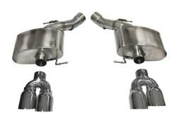 Corsa For 12-13 Bmw M5 F10 Polished Sport Axle-back Exhaust - Cor14934