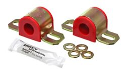 Energy Suspension Universal 20mm Red Non-greasable Sway Bar Bushings - Es9.5124r