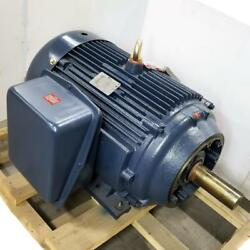 Century 75 Hp 1200 Rpm Tefc 208-230/460 Volts 405tc Footed 3 Phase Motor Cfr42