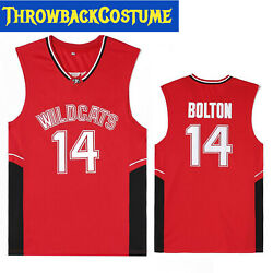 Zac Efron 14 High School Musical Jersey Troy Bolton Wildcats S M L Xl 2xl