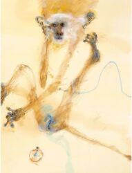 John Olsen And039monkey Iand039 Collectable Limited Edition Print Signed + Coa - Cheeky