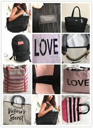 Victoria#x27;s Secret Limited Edition Carry On Weekender Tote BEACH BAGS MAKEUP NWT $28.99