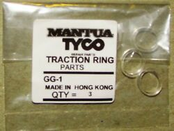 Gg1 Traction Tire Traction Ring Kit For Tyco Gg1 Loco Made In Hong Kong, 3 Tires