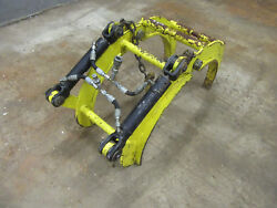 Hydraulic Pipe Grab Tong Clamp Positioner Heavy Duty Crescent Caldwell Sawyer