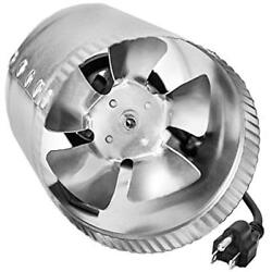 IPower 4 Inch 100 CFM Booster Fan Inline Duct Vent Blower For HVAC Exhaust And