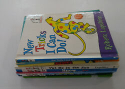 I Can Read Beginner Books Dr. Seuss PD Eastman Lopshire Lot of 8 Books
