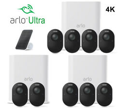 New Arlo Ultra 4k Wire-free Security Camera System 2345 Camera And Accessories