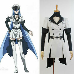 Akame Ga Kill Esdeath Empire General Apparel Uniform Outfit Cosplay Costume