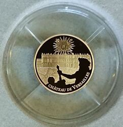 France 2011 50 Euro Unesco World Heritage Site - Versailles Proof Gold Coin