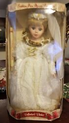 Beautiful Collectorand039s Choice Genuine Fine Bisque Porcelain Doll Limited Edition