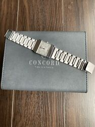 Concord Crystal watch - 18k white gold with diamonds